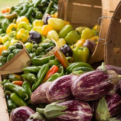 Farmers' Market Scavenger Hunt with Kids