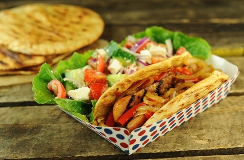 Grilled Quicki Souvlaki Sandwich 500p
