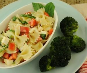Lemon Basil Summer Pasta Salad 500p-1