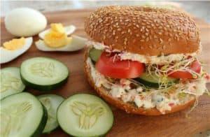 Veggie Delight Sandwiches