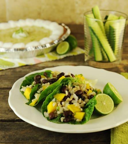 Mango and Black Bean Salad photo by Kirsten Wisniakowski