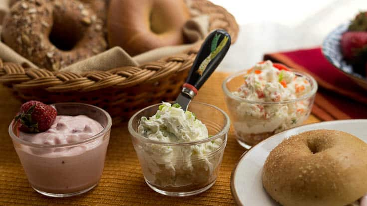 Homemade Flavored Cream Cheeses