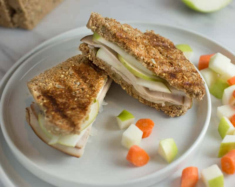 Grilled Cheese with Turkey Spanish Manchego and Tart Apples