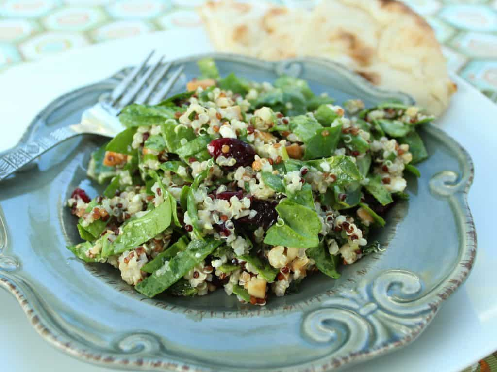 Spinach and Quinoa Salad