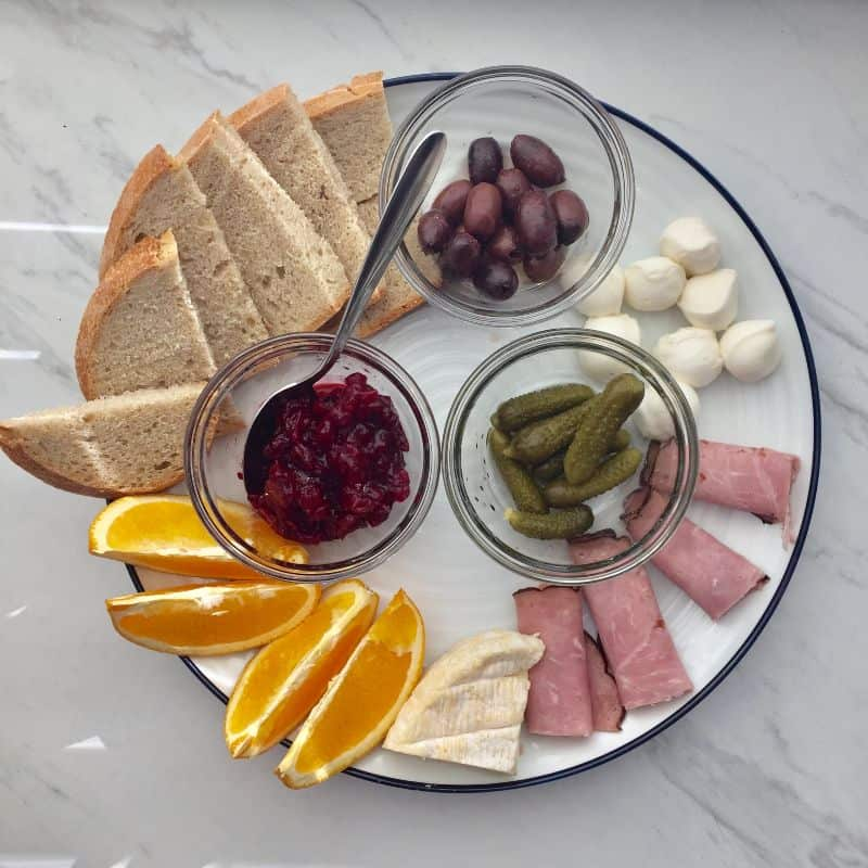 Cheese Plate for Mother's Day