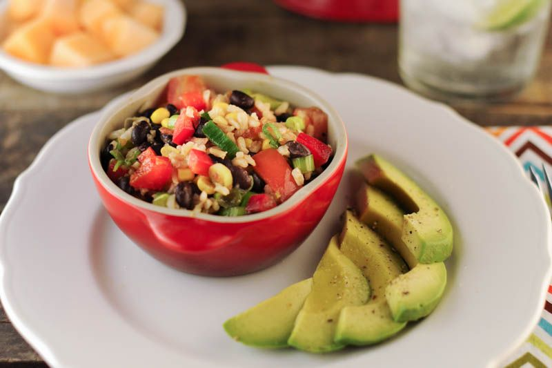 New Mexican Rice Salad