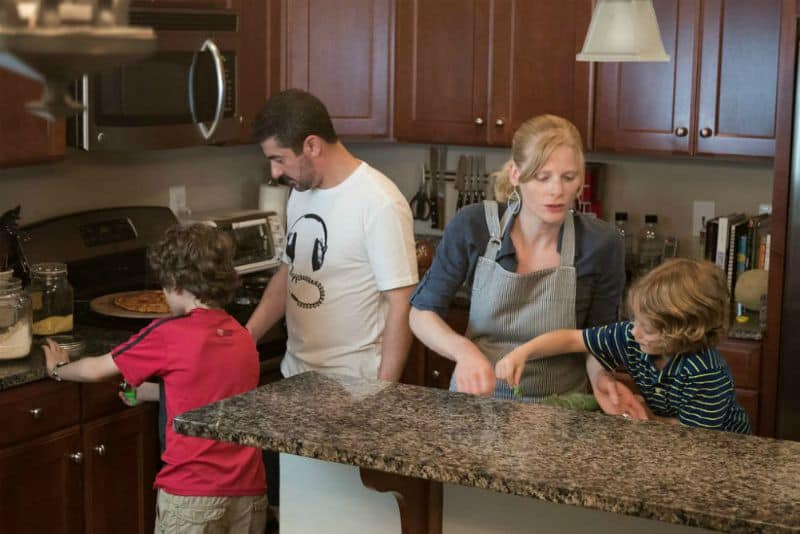 Quality time in the kitchen