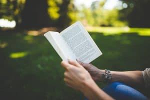 read a book for pleasure