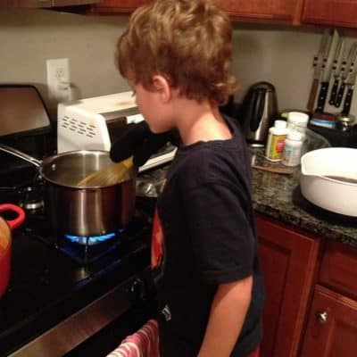How a Stomach Flu Proved that Cooking with my Kids was Worth the Hassle