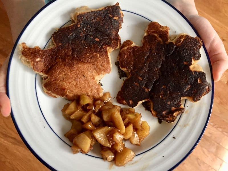 Raddish Alpine Pancakes