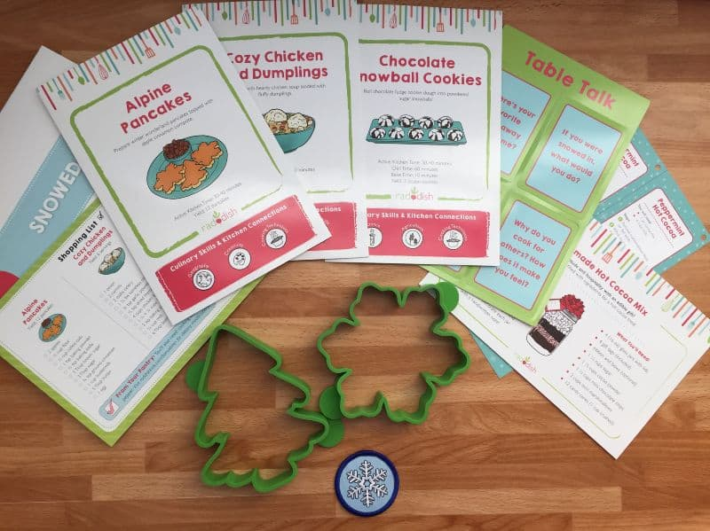 Raddish Kids Cooking Club Kit
