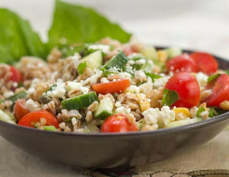 Far Out Farro Salad