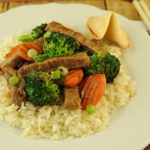 Beef and Broccoli Teriyaki