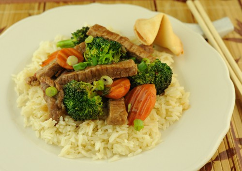 Beef and Broccoli Teriyaki