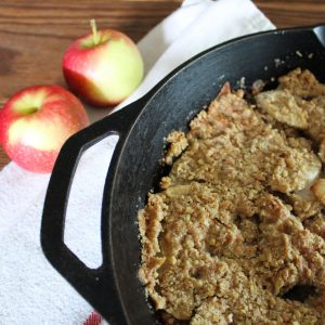 Breakfast-Ready Apple Crisp