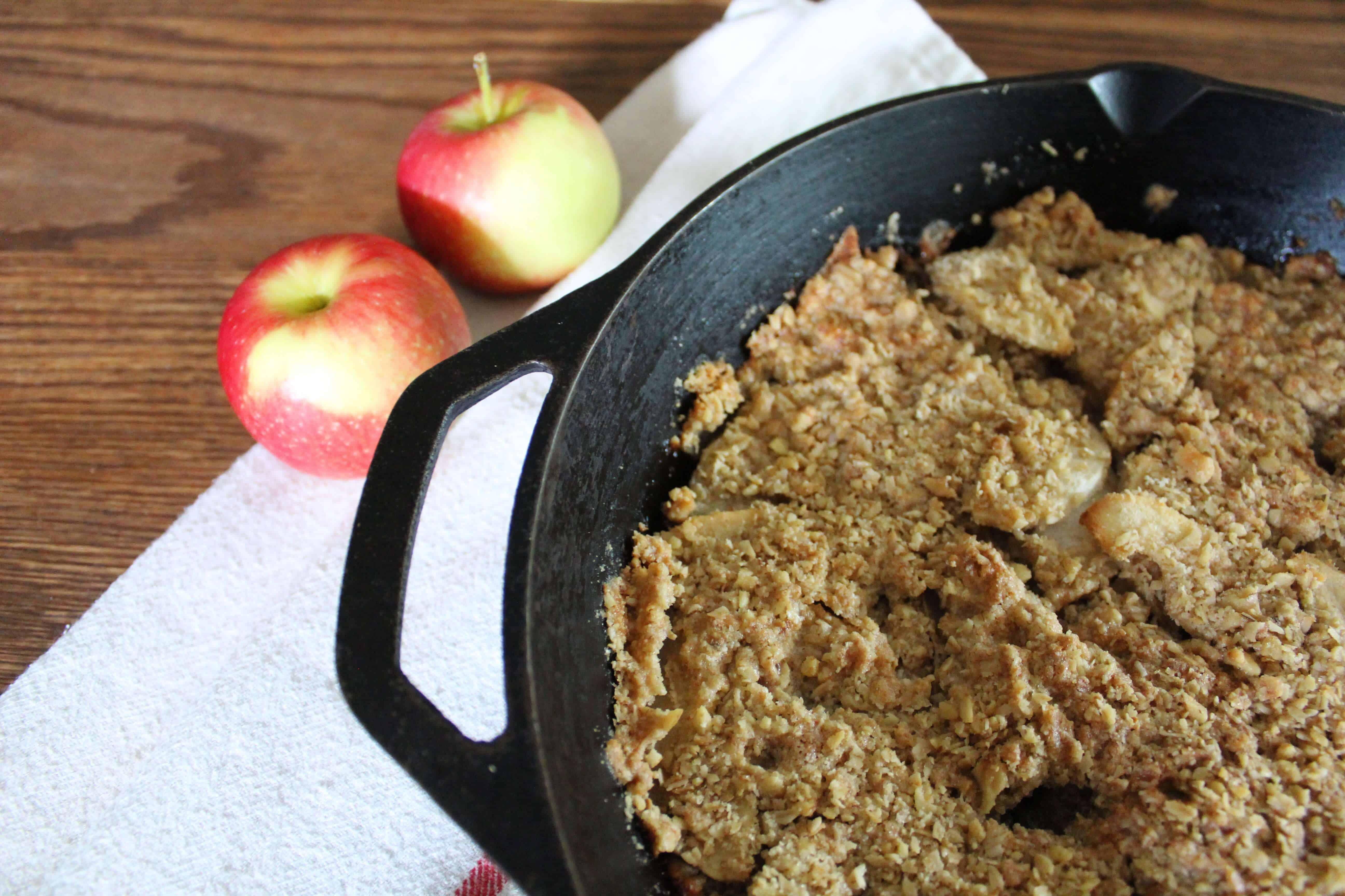 Breakfast-Ready Apple Crisp