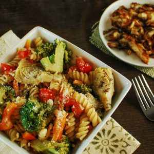 Broccoli Parmesan Pasta Salad
