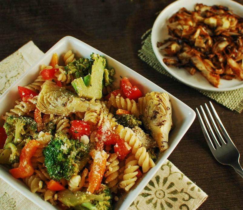 Broccoli Parmesan Pasta Salad