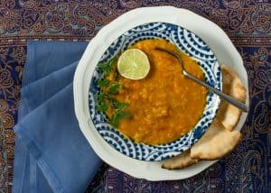 Butternut Squash and Yellow Lentil Stew