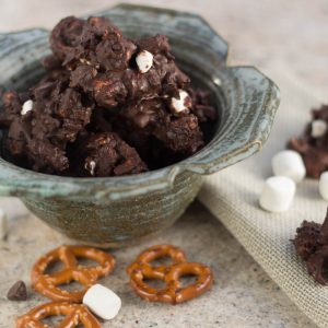 Celia's Chocolate Marshmallow Clusters