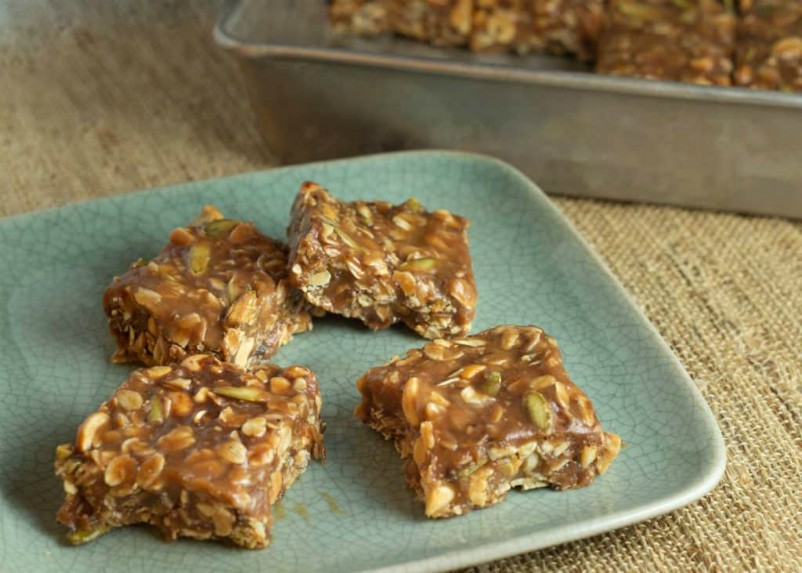 Chewy Protein Packed Granola Bars