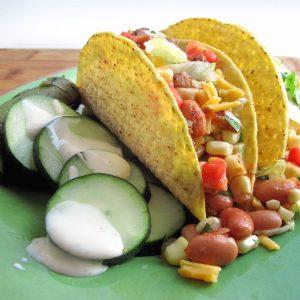 Crispy Vegetable Tacos