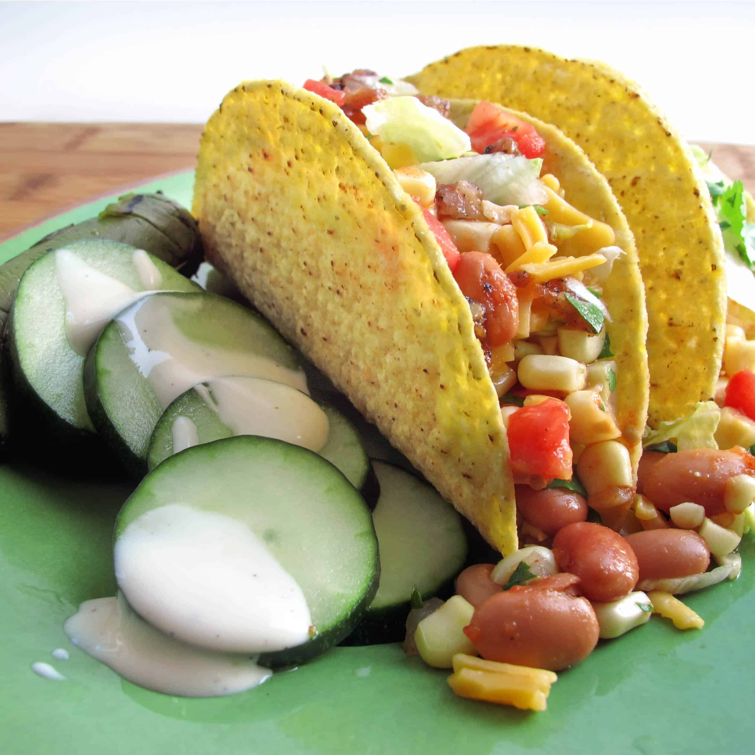 Crispy Vegetable Tacos