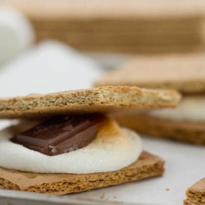 Dark Chocolate Smores