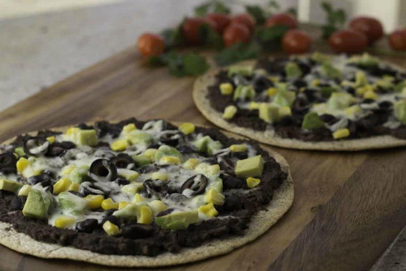 Fiesta Tostadas (Mexican Pizza)