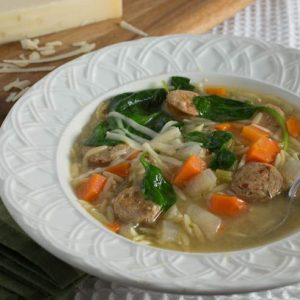 Italian Shotgun Wedding Soup