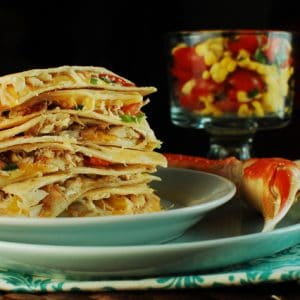 Lump Crab Quesadillas