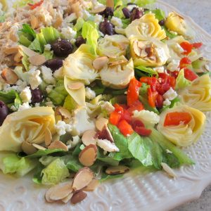 Mediterranean Sunset Salad