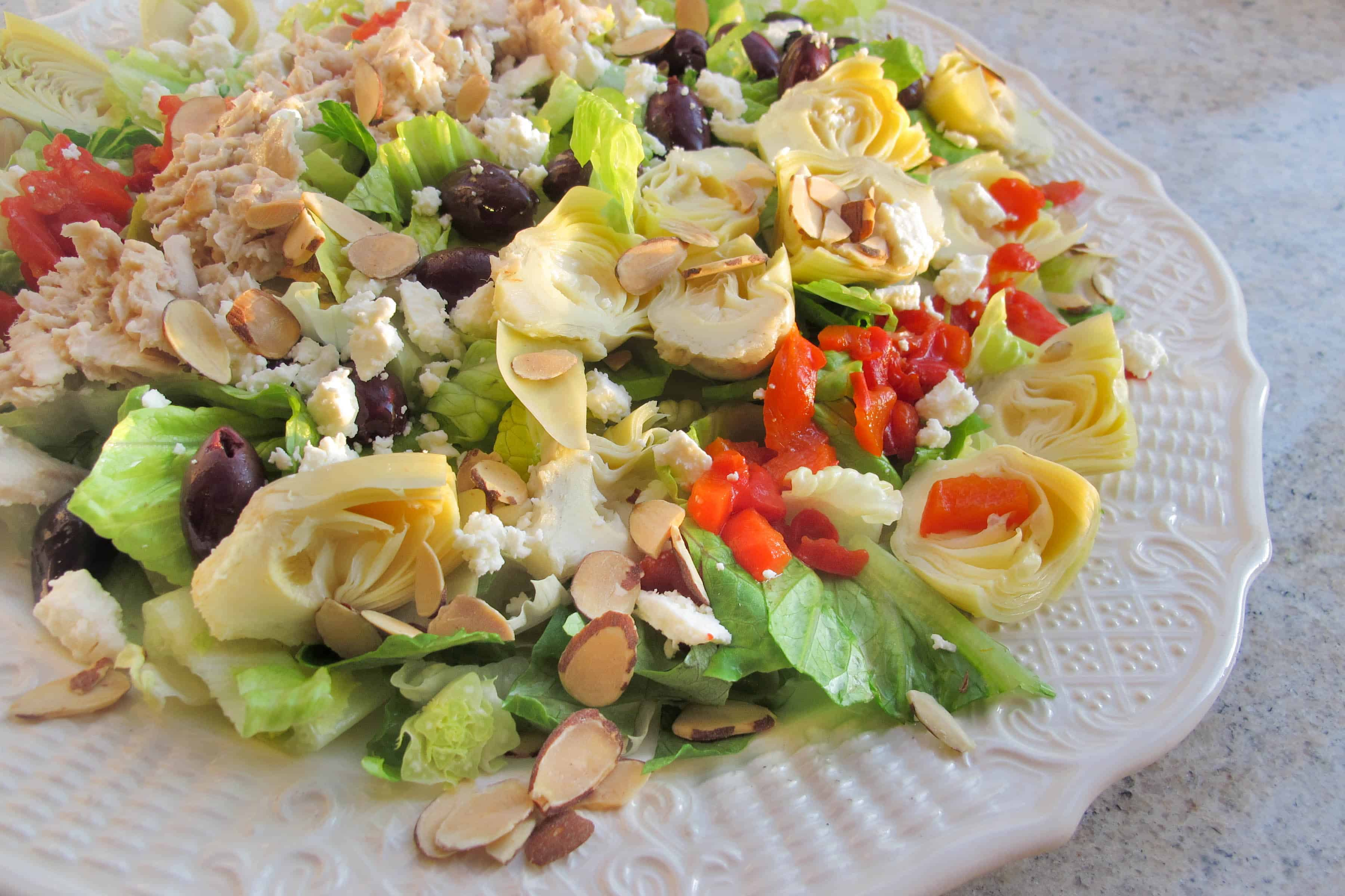 Mediterranean Sunset Salad