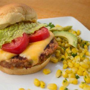 Mexican Veggie Burgers