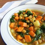 North African Super Foods Stew with Chickpeas
