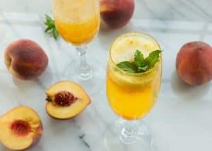 Peach-Mango Bellini