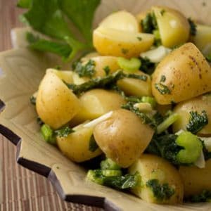 Potato and Kale Salad with Dijon Vinaigrette