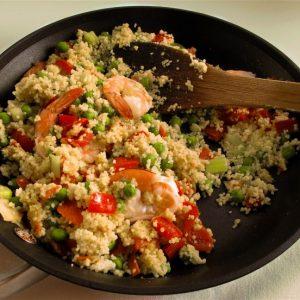 Quick Couscous Paella