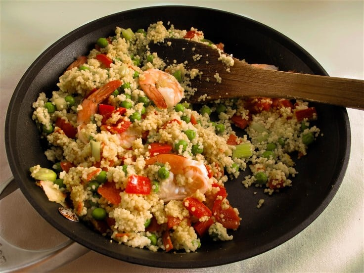 Quick Couscous Paella