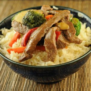 Quickie Beef and Asian Veggie Stir Fry