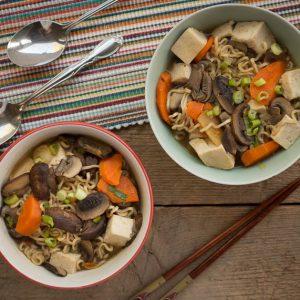 Ramen Vegetable Noodle Soup