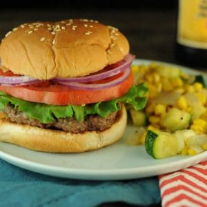 Solomon's Smoky Stove-Top Burgers