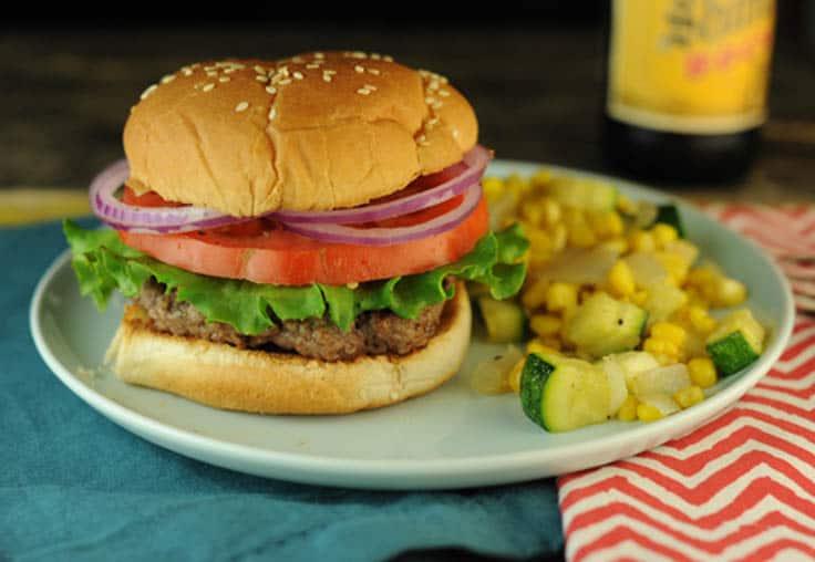 Solomon's Smoky Stove-Top Burgers