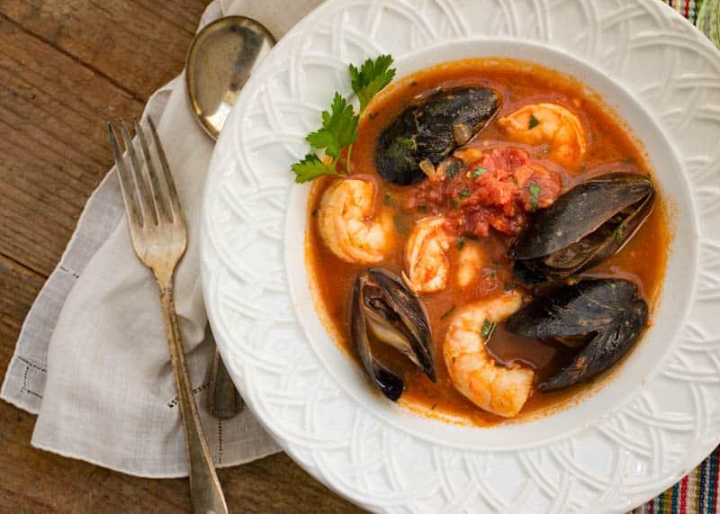 Sorrento Seafood Stew