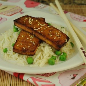 Soy-Garlic Baked Tofu