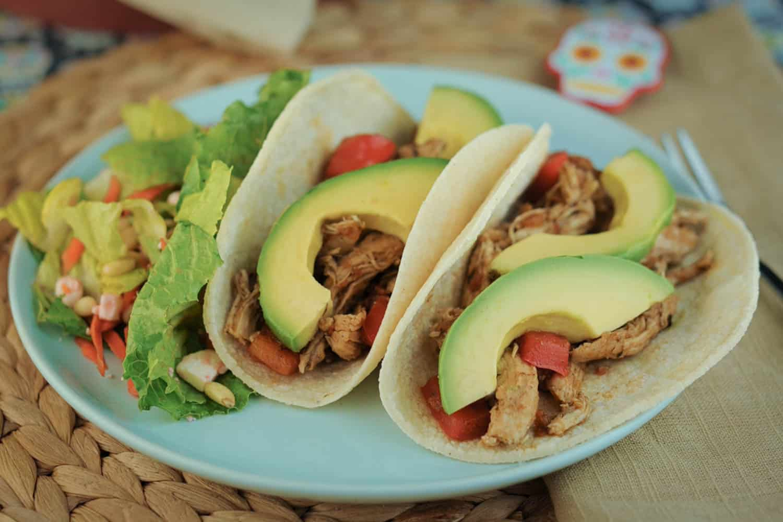 Spiced Chicken Soft Tacos