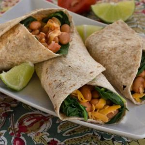 Spinach Burritos