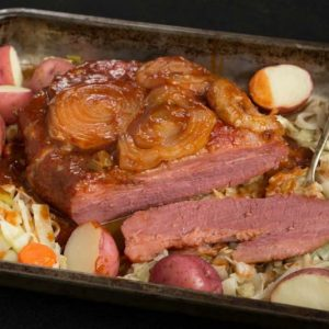 Sqeet Glazed Corned Beef and Cabbage