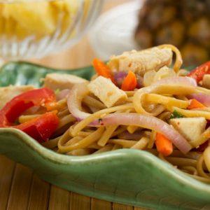 Teriyaki Noodle Stir Fry