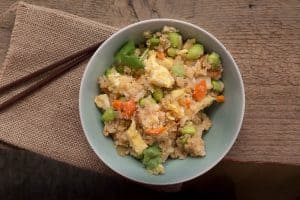 Veggie Cauliflower Fried Rice